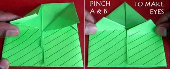 EASY Origami Talking FROG - EASY CRAFTS - EASY DIY - YouTube   235x576