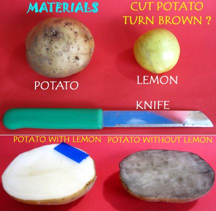 how to save cut potatoes